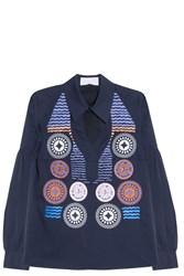 Peter Pilotto Olympia Shirt Navy