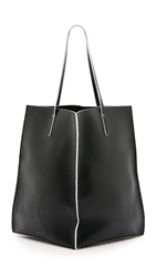 Maiyet Sia Shopper Black White