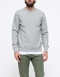 Reigning Champ Core Crewneck Heather Grey