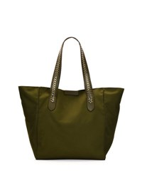 Stella Mccartney Eco Nylon Tote Bag Khaki