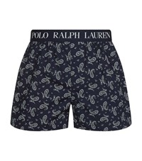 Polo Ralph Lauren Slim Fit Boxer Shorts Male Navy