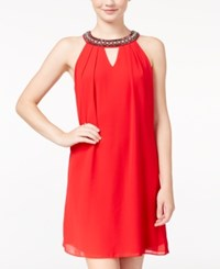 Amy Byer Bcx Juniors' Embellished Shift Dress A Macy's Exclusive Red