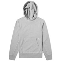 Helmut Lang Back Large Embroidered Popover Hoody Grey