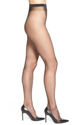 Women's Wolford 'Naked 8' Sheer Tights Black