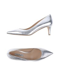 The Seller Footwear Courts Women Silver
