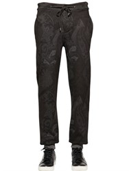 Etro Paisley Print Heavy Cotton Jogging Pants