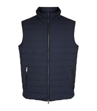 Paul And Shark Zip Front Gillet Male Navy