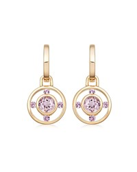 Kiki Mcdonough Forget Me Not 18K Gold And Lavender Amethyst Drop Earrings