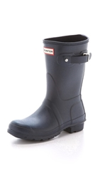 Hunter Original Short Boots Navy