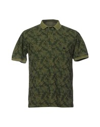 Macchia J Polo Shirts Military Green