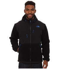 The North Face Denali Hoodie Recycled Tnf Black Monster Blue Men's Coat