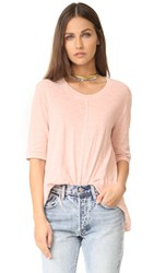 Wilt Elbow Sleeve Trapeze Tee Willow