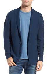 Men's Original Paperbacks 'Chicago' Shawl Cardigan Navy