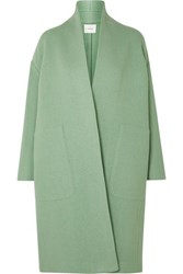 Vince Wool Blend Coat Mint
