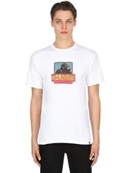 Xlarge Og Printed Cotton Jersey T Shirt White