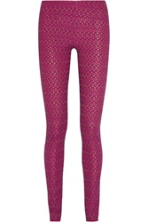 Missoni Open Knit Wool Blend Leggings
