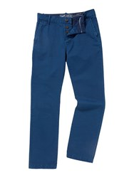 Criminal Marine Straight Leg Chino Bright Blue