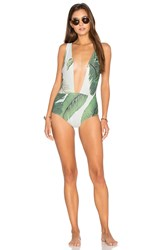 Beach Riot Waikiki One Piece Green