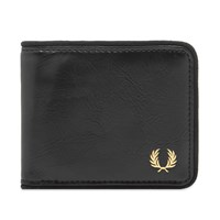 Fred Perry Authentic Classic Billfold Wallet Black
