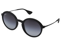 Ray Ban Rb4222 50Mm Black Rubberized Gray Gradient Fashion Sunglasses