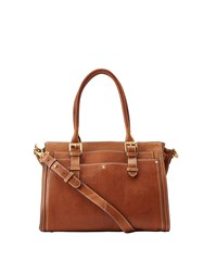Joules Hathaway Mini Leather Everyday Bag Brown