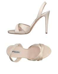 Gianna Meliani Sandals Beige