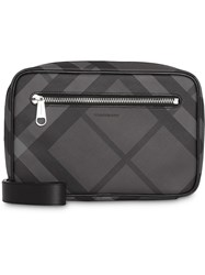 Burberry London Check Travel Pouch Grey