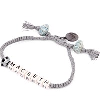 Venessa Arizaga Macbeth Ceramic Bracelet Gray