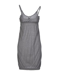 Gold Case Short Dresses Grey