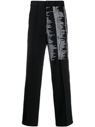 Yang Li Script Print Tailored Trousers 60