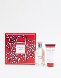 Tommy Hilfiger Girl 100Ml Set Body Lotion No Colour Clear