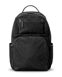 Shinola Nubuck Utility Backpack Black
