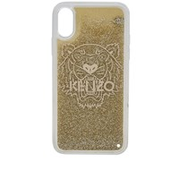 Kenzo Iphone X Tiger Glitter Case Yellow