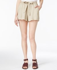 Maison Jules Pull On Shorts Only At Macy's Oxford Tan