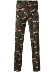 Palm Angels Camouflage Print Track Pants Multicolour