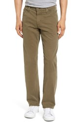 Ag Jeans Men's Graduate Sud Slim Straight Leg Pants Caper Leaf