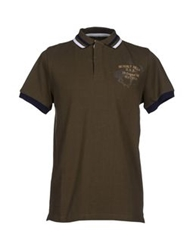 Beverly Hills Polo Club Polo Shirts Military Green