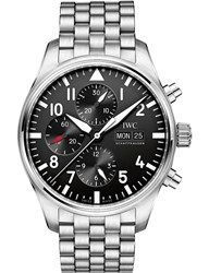 Iwc Pilot's Stainless Steel Watch