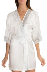 In Bloom By Jonquil 'S Satin Robe Ivory