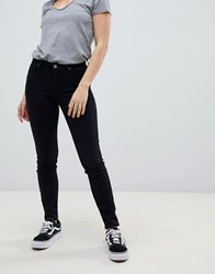 Lee Scarlett High Rise Skinny Jeans Black Rinse