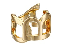Obey Cipher Ring Gold Ring