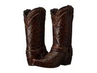 Stetson Outlaw Buckstitch Marbled Brown Men's Boots
