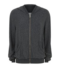 Wildfox Couture Worth It Zip Up Hoodie Female Grey