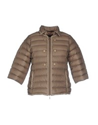 Puzzle Goose Coats And Jackets Down Jackets Women Dove Grey