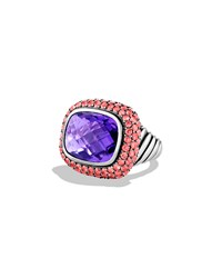 Waverly Ring With Amethyst And Pink Sapphires David Yurman Silver