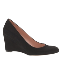 J.Crew Martina Suede Wedges