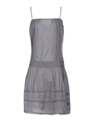 Local Apparel Knee Length Dresses Grey
