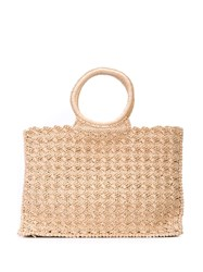 Carrie Forbes Marisa Tote Bag Neutrals
