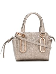 See By Chloe Mini 'Paige' Crossbody Bag Metallic