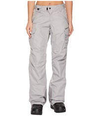 686 Smarty Cargo Pants Light Grey Women's Casual Pants Gray